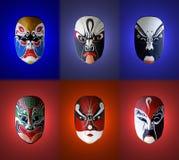 Mask of chinese opera Stock Photography