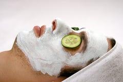 Mask Closeup Stock Photography