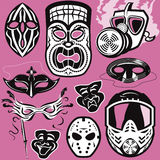 Mask Collection Stock Photo