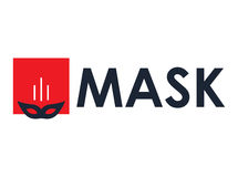 Mask Concept Design Stock Photography