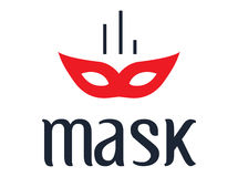 Mask Concept Design Royalty Free Stock Photos