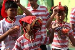 Mask dance Royalty Free Stock Photos