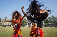 Mask dance Stock Photos