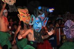 Mask dance Stock Photo