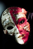 Mask decorating portrait Stock Images