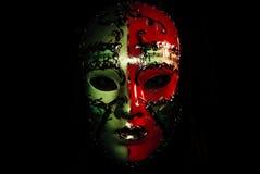 Mask decorating portrait Royalty Free Stock Photography