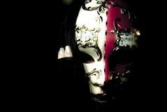 Mask decorating portraits Stock Image
