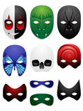 Mask design illustrations Royalty Free Stock Image