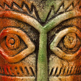 Mask eyes. A beautiful mask art work from India royalty free stock photos