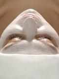 Mask on face Stock Photo