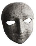 Mask face. Isolated on white Royalty Free Stock Photo