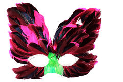 Mask from feather Royalty Free Stock Photos
