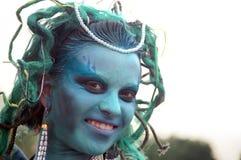 Mask Gorgon head Stock Photography