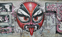 Mask Graffiti Royalty Free Stock Image