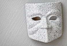 Mask of granite Stock Images