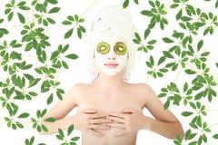 Mask green Royalty Free Stock Photo