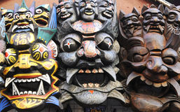 Mask for halloween Stock Images
