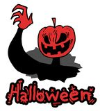 Mask halloween terror Stock Photo