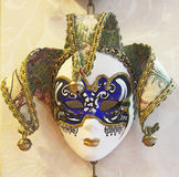 Mask of the Harlequin. Venice Stock Images