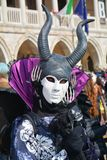 Mask with horns, Venice, Italy, Europe Royalty Free Stock Image