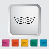 Mask icon Stock Photography