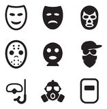 Mask Icons Stock Photos