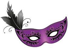 Mask. Illustration of a carnival mask royalty free illustration
