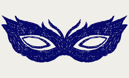 Mask for masquerade costumes Royalty Free Stock Photo