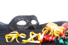 Mask with masquerade decorations Royalty Free Stock Image