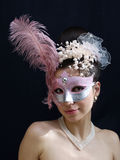 Mask and necklace Royalty Free Stock Photo