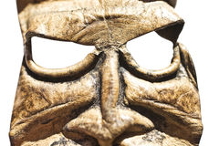 Mask of a pagan deity Royalty Free Stock Photo