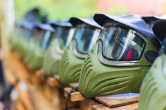 Mask for paintball Stock Photography