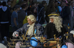 Mask parade Fasnacht in Rastatt, Germany Royalty Free Stock Images