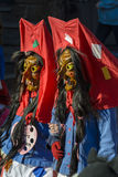 Mask parade Fasnacht in Rastatt, Germany Stock Images
