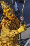 Mask parade Fasnacht in Rastatt, Germany Stock Photos