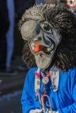 Mask parade Fasnacht in Rastatt, Germany Royalty Free Stock Photos