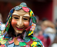 Mask parade in Freiburg, Germany Royalty Free Stock Photo