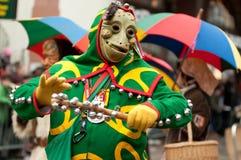 Mask parade in Freiburg, Germany Stock Image