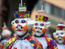 Mask parade in Freiburg, Germany Royalty Free Stock Photography