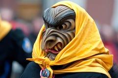 Mask parade in Freiburg, Germany Stock Photo