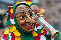Mask parade in Freiburg, Germany Stock Image