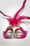 Mask. Pink eye mask for women Royalty Free Stock Photo