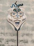 Mask on Pole Royalty Free Stock Image