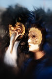 Mask Portrait Carnival Of Venice Italy Royalty Free Stock Photo