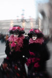 Mask portrait  carnival of venice italy Royalty Free Stock Photography