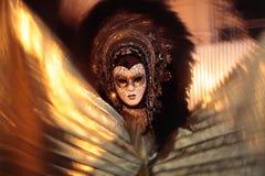 Mask portrait  carnival of venice italy Stock Photography