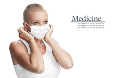 In mask Stock Photography