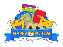 Mask Purim Banner Stock Photos