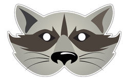 Mask Raccoon Stock Images