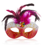 Mask red with reflection Stock Images